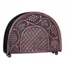 <strong>Old Dutch International</strong> Antique Embossed Heritage Napkin Holder