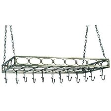 <strong>Old Dutch International</strong> Rectangular Hanging Pot Rack