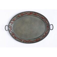 Art Nouveau Oval Serving Tray