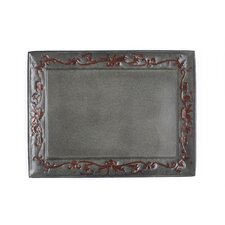 Art Nouveau Rectangular Serving Tray