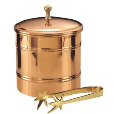 Lined Ice Bucket in Copper