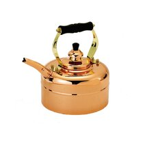 Copper 3-qt. Tri-Ply Windsor Whistling Tea Kettle