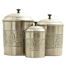 Victoria 3 Piece Canister Set