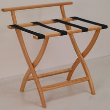 <strong>Wooden Mallet</strong> Wall Saver Luggage Rack