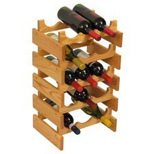 Dakota 15 Bottle Wine Rack