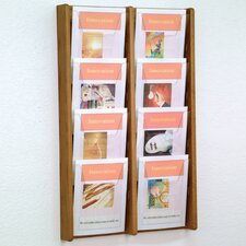 8 Pocket Wall Display