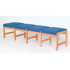 Dakota Wave Four Seat Bench