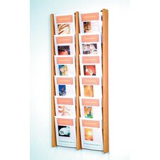 12 Pocket Wall Display