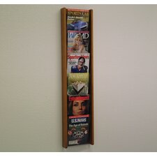 6 Pocket Wall Display