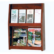 <strong>Wooden Mallet</strong> Four Magazine and Eight Brochure Wall Display
