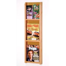 3 Pocket Magazine / 6 Pocket Brochure Wall Display
