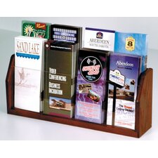 <strong>Wooden Mallet</strong> Countertop Eight Pocket Brochure Display