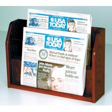 Countertop Two Pocket Newspaper Display