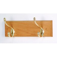 Coat Rack with 2 Hooks