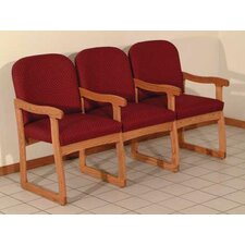 Prairie Three Seat Guest Chair