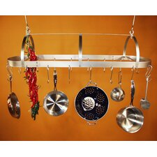 <strong>HSM Racks</strong> Hooded Oval Hanging Pot Rack