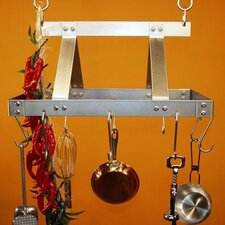 Galley Rectangular Hanging Pot Rack
