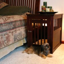 End Table Pet Crate