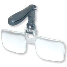 VisorMag Clip-On 2.25x Magnifier Lenses for Hat