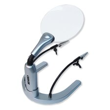 <strong>Carson</strong> HelpingHands Soldering & Craft Magnifier with Fully Adjustable Clamps