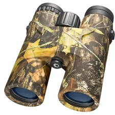 10x42 WP Blackhawk Binoculars, Mossy Oak Break-Up® Camouflage, Bak-4, Blue Lens