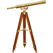 Scope, Anchormaster Telescopes, with Mahogany Floor Tripod  Statue