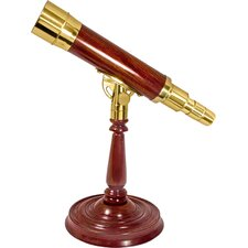 Anchormaster Desktop Pedestal Statue Decorative Telescope