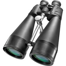 <strong>Barska</strong> 20x80 X-trail Binoculars, Bak-4, MC,Green Lens with Braced-in Tripod Adapter