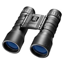 16x42 Lucid View Compact Binoculars with Blue Lens in Black