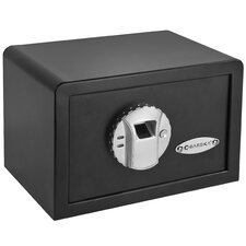 <strong>Barska</strong> Mini BioMetric Key Lock Wall Safe