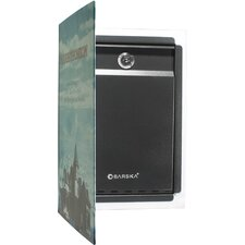Key Lock Dual Book Safe