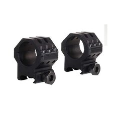 "<strong>Weaver Optics</strong> 1"" 6-Hole Picatinny Tactical Ring (Set of 2)"