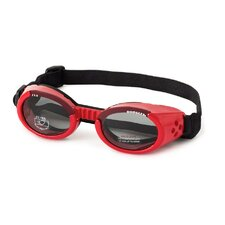 <strong>Doggles</strong> ILS Lense Dog Goggles in Shiny Red
