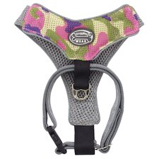 Dog Wear Camo Mesh Harness