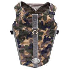 Dog Wear Camo Reflective Mesh Vest Harness