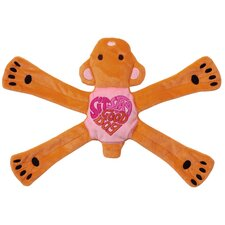Hippie Pentas Dog Toy in Pink