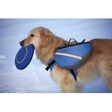 Extreme Dog Backpack in Blue and Gray