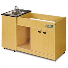 "58"" x 26"" Kiddie Station 1 Portable Hand Washing Station with Storage Cabinet"