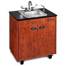 "<strong>Ozark River Portable Sinks</strong> Lil' 26"" x 18"" Premier 1 Portable Hand Washing Station with Storage Cabinet"