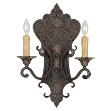 <strong>Savoy House</strong> Southerby 2 Light Wall Sconce