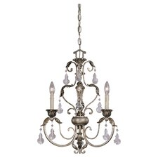 Florita 3 Light Mini Chandelier