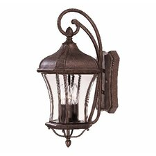 <strong>Savoy House</strong> Realto 3 Light Outdoor Wall Lantern