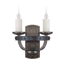 Whitcomb 2 Light Wall Sconce