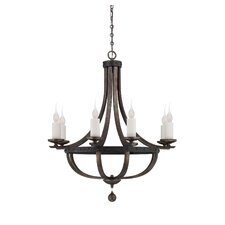 Whitcomb 8 Light Chandelier