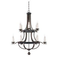 Whitcomb 12 Light Chandelier