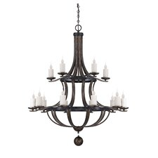Whitcomb 15 Light Chandelier