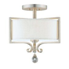 Canyon 2 Light Semi Flush Mount