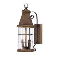 Carter 2 Light Outdoor Wall Lantern