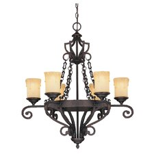 Minerva 6 Light Chandelier