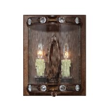 Diamond 2 Light Wall Sconce